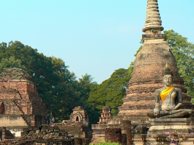 Thailand ayutthaya buddha, religion.