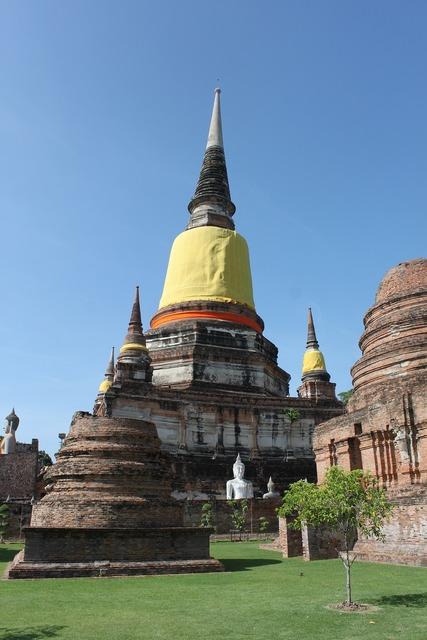 Thailand ayutthaya buddhism, religion.