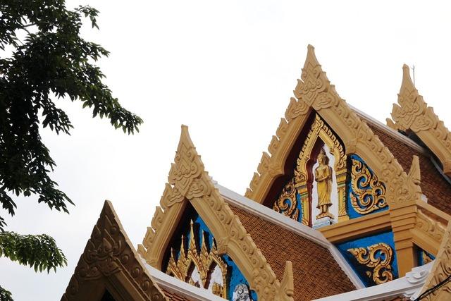 Thailand bangkok temple, religion.