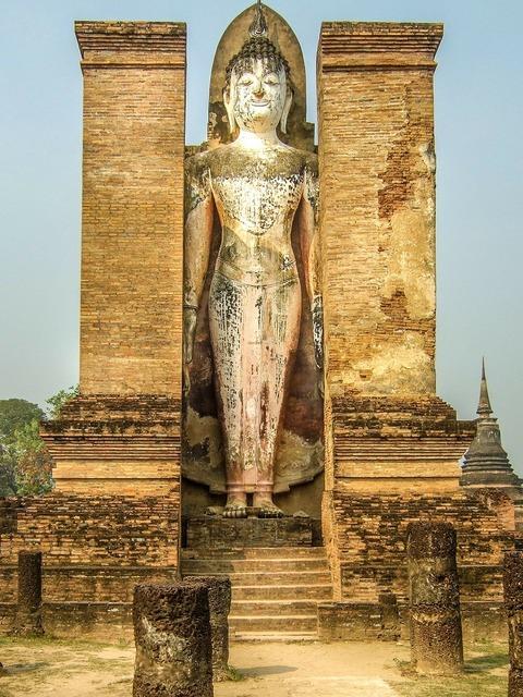 Thailand buddha buddhism, religion.