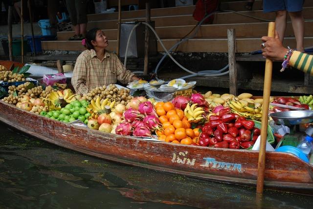Thailand fruit channel, food drink.