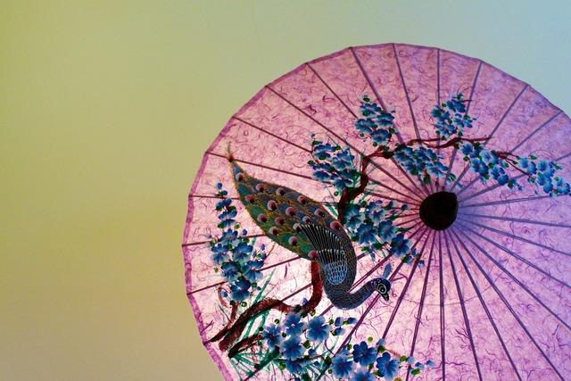 Thailand japan parasol.