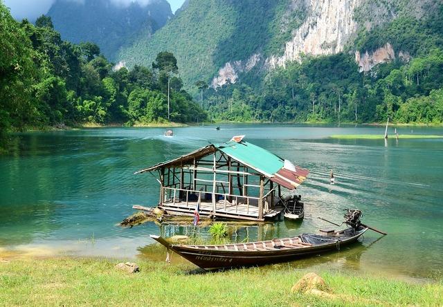 Thailand khao sok national park, travel vacation.