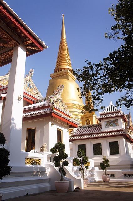 Thailand measure wat niwet, architecture buildings.
