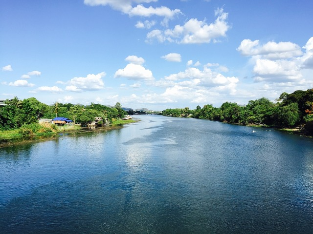 Thailand river kwai the scenery, travel vacation.