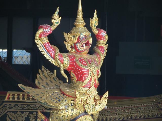 Thailand royal figure.