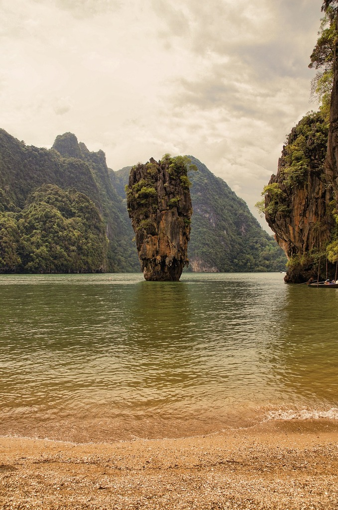 Thailand sea water, nature landscapes.