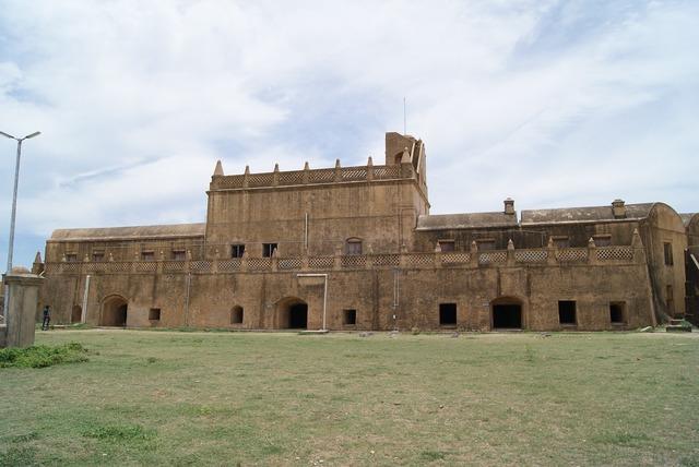 Tharangambadi fort tarangambadi fort, architecture buildings.