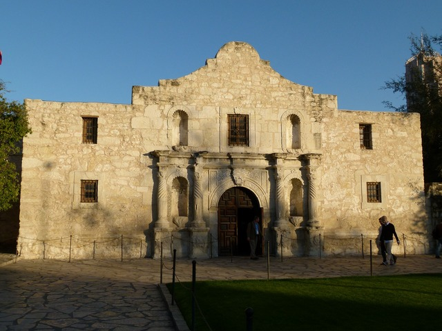 The alamo texas san antonio.