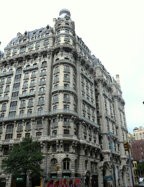 The ansonia hotel new york city, architecture buildings.