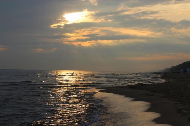 The baltic sea sea beach, travel vacation.
