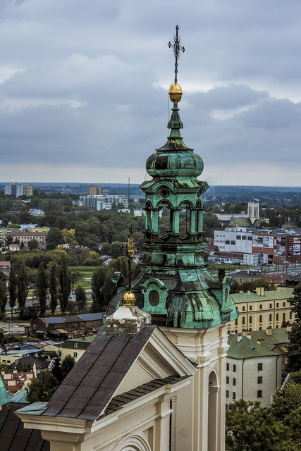The cathedral church lublin, religion.