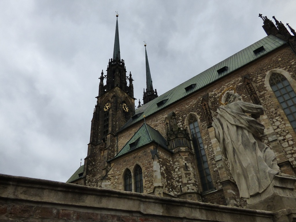 The cathedral church tower, religion.