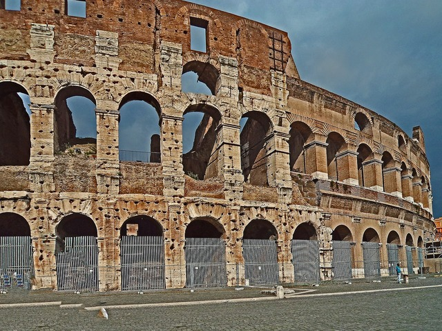The coliseum rome monument, architecture buildings.