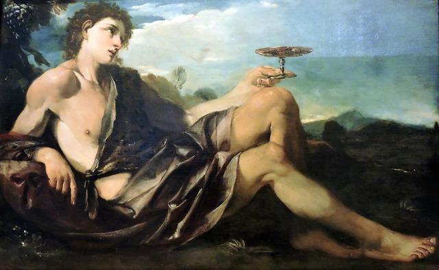The framework bacchus allegory.