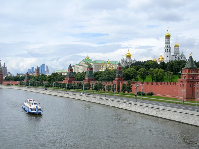 The kremlin kremlevskaya embankment moscow, architecture buildings.