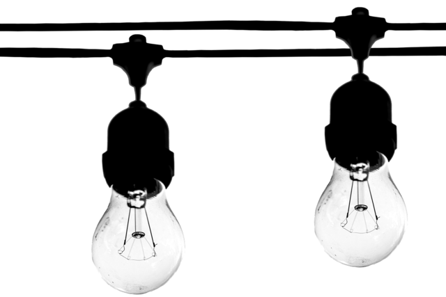 The light bulb light bulb light.