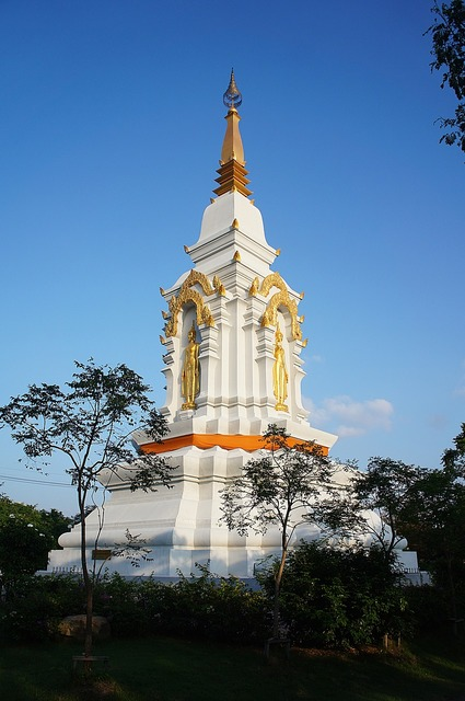 The lord buddha's relics the ancient city thailand.