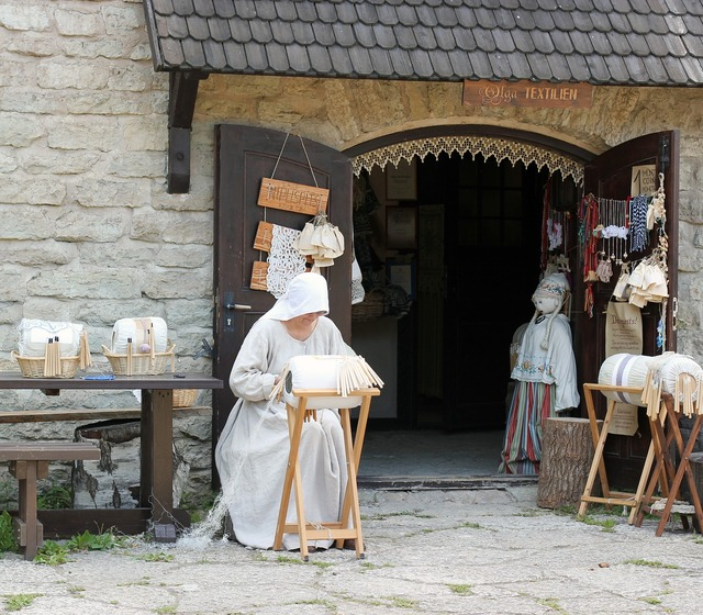 The middle ages shop historical, industry craft.