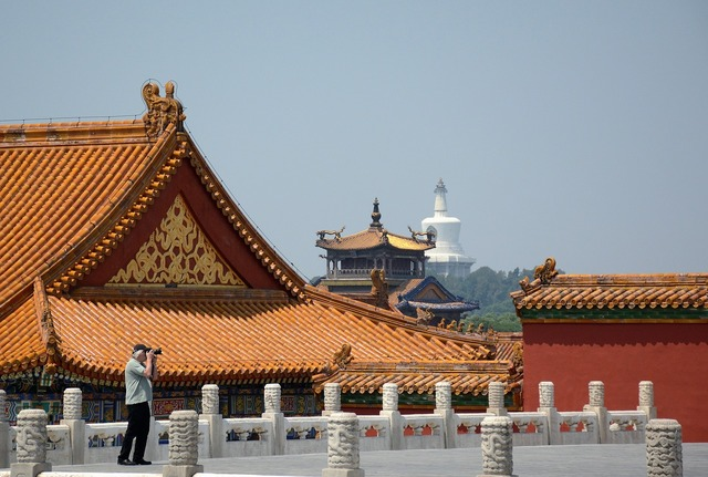 The national palace museum photography building, architecture buildings.