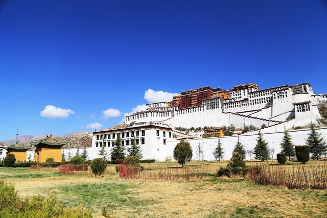 The potala palace lhasa tibet, religion.