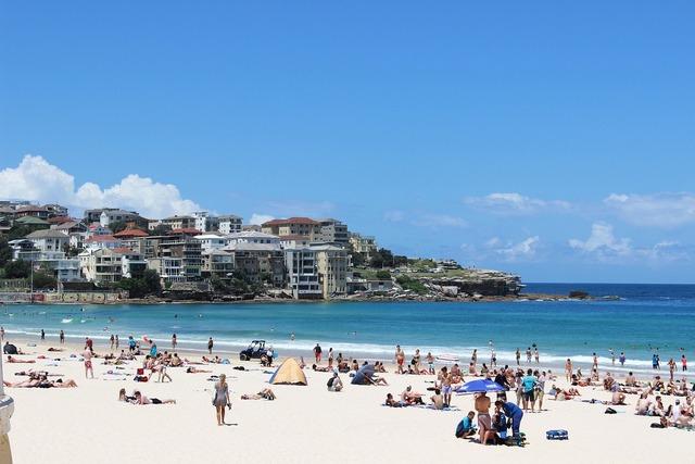 The sea beach australia, travel vacation.