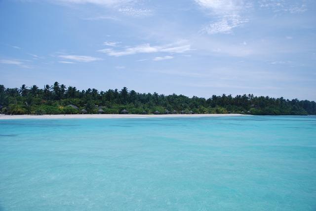 The sea maldives views, travel vacation.