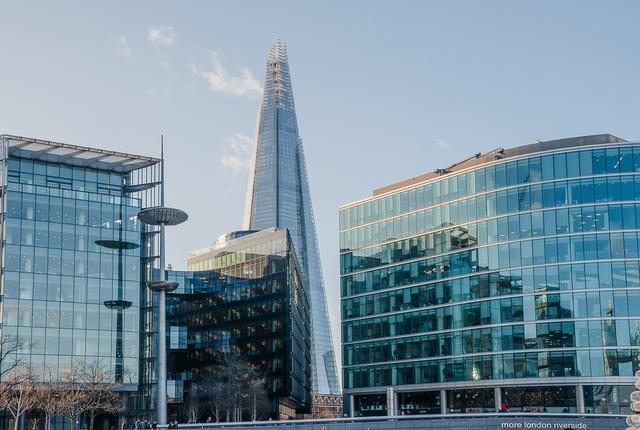 The shard london skyscraper, travel vacation.