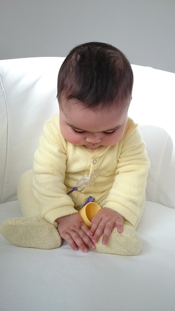 The strenght is to be found in serenity baby infant, people.