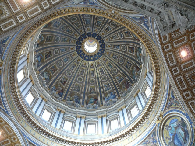 The vatican cathedral of st peter rome, religion.