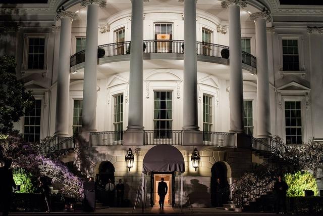 The white house washington d c landmark, places monuments.