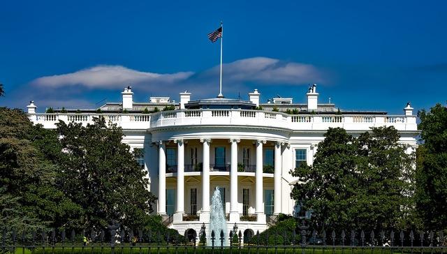 The white house washington dc landmark, places monuments.