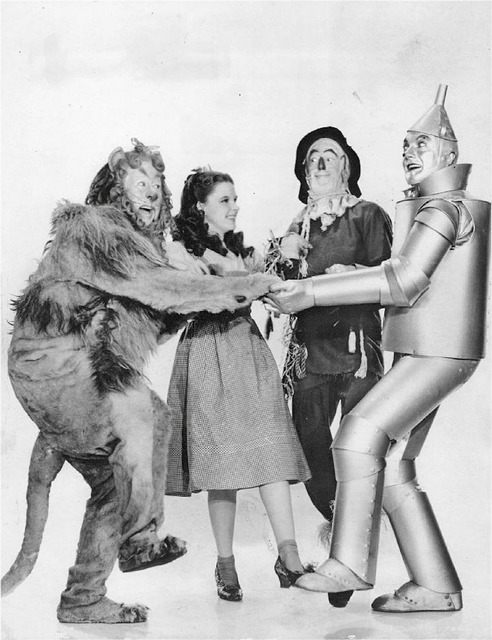 The wizard of oz bert lahr cowardly lion, transportation traffic.