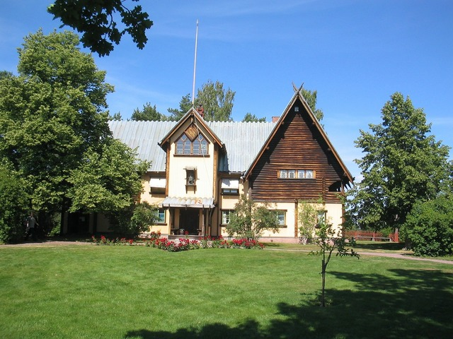 The zorn manor mora sweden, architecture buildings.