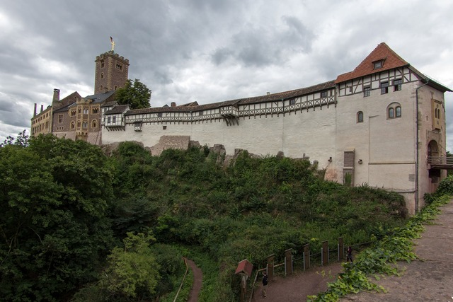 Thuringia germany eisenach castle.