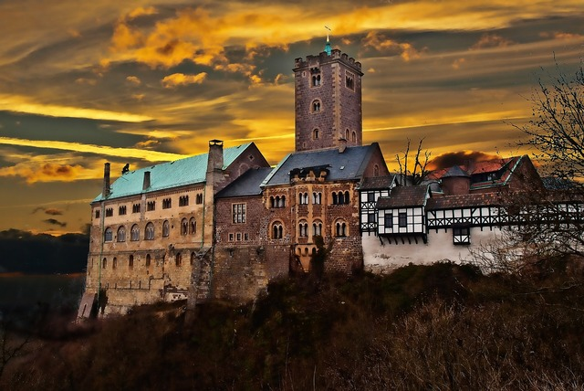 Thuringia germany eisenach wartburg castle.