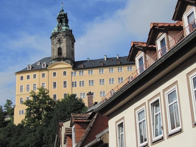 Thuringia germany rudolstadt heidecksburg.