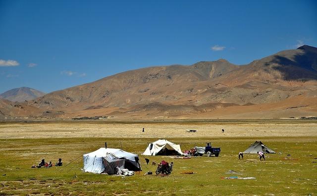 Tibet landscape nomads, nature landscapes.