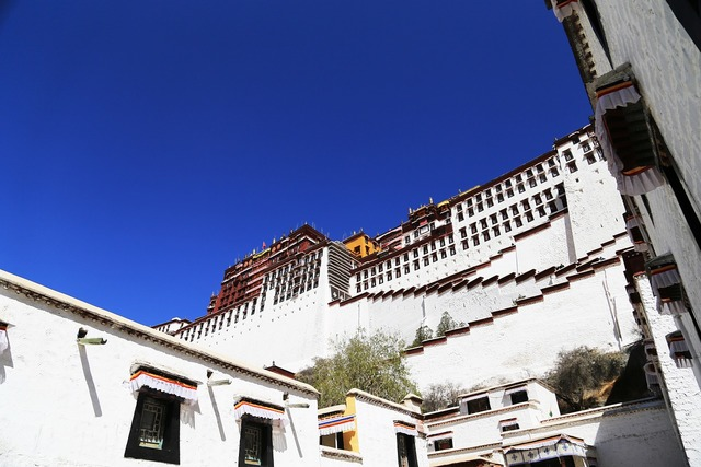Tibet lhasa the potala palace, religion.