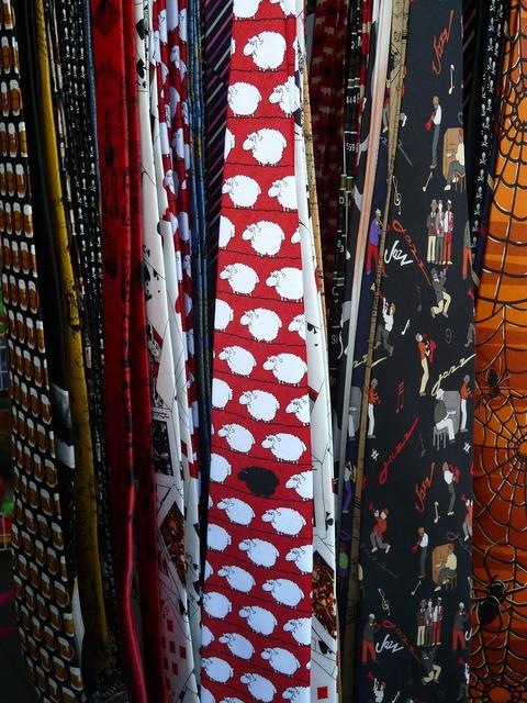 Ties clothing sale.