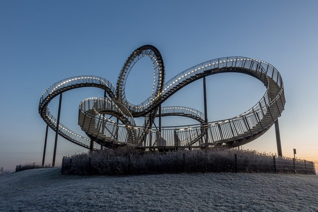Tiger and turtle duisburg looping, places monuments.
