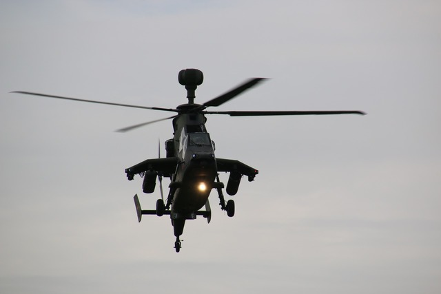 Tiger helicopter gunship.