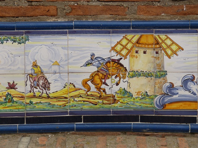 Tile ceramic la mancha.