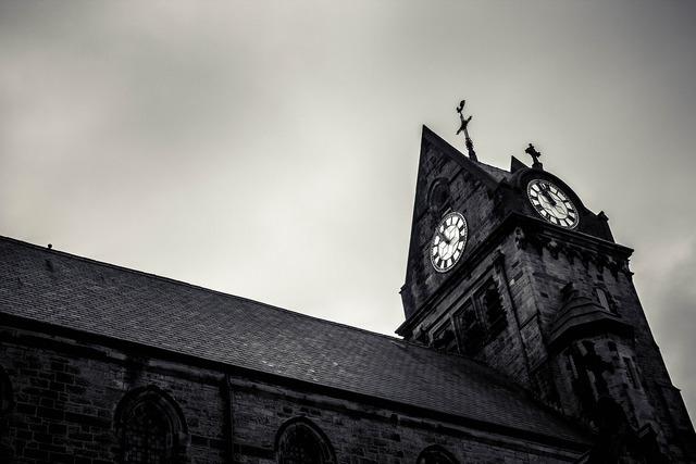 Time stone church, religion.