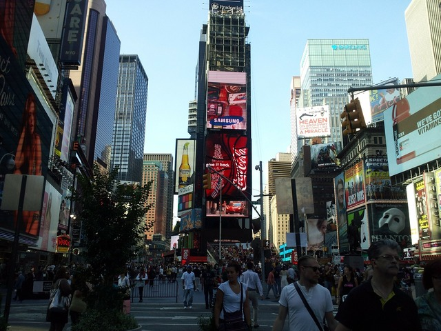 Times square new york city new york.