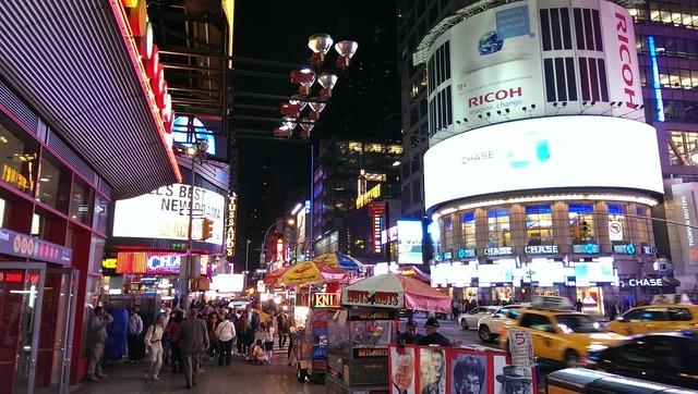 Times square new york usa.