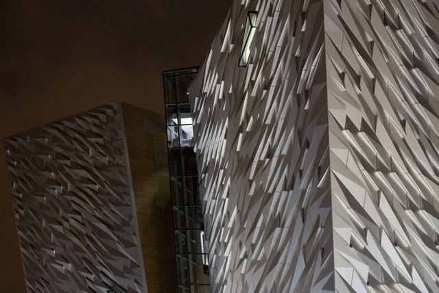 Titanic quarter building, architecture buildings.