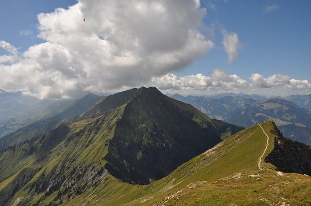 To sneeze mountains summit.