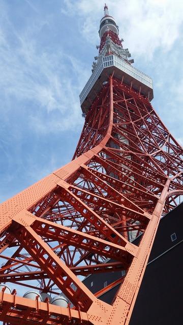 Tokyo tower shiba minato-ku, travel vacation.
