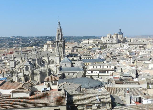 Toledo spain tourist, travel vacation.
